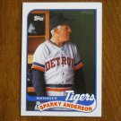 Sparky Anderson Tigers Manager Card No. 193 - 1989 Topps Baseball Card
