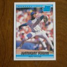 Anthony Young Rated Rookie Mets Pitcher Card No. 409 - Donruss 1992 Baseball Card