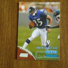 Patrick Johnson Draft Pick Ravens WR Card No. 170 - 1998 Topps Stadium Club Football Card