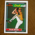 Tyler Green Major League Draft Pick Philadelphia Phillies P Card No. 764 - Topps 1992 Baseball Card