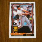 Leo Gomez Orioles 3B All Star Rookie Card No. 84 - Topps 1992 Baseball Card