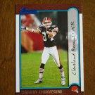 Darrin Chiaverini Cleveland Browns WR Card No 192 - Bowman Topps 1999 Football Card