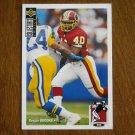 Reggie Brooks Redskins RB Card No 360 (FB360) 1994 Upper Deck Football Card