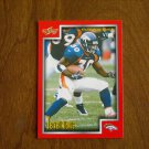 Terrell Davis Denver Broncos RB Card No 183 - 1999 Score Football Card