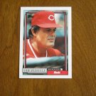 Lou Piniella Reds Manager Card No 321 - 1992 Topps Baseball Card