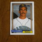 Bill Plummer Mariners Manager Card No 171 (BC171) 1992 Topps Baseball Card