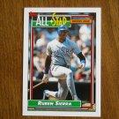 Ruben Sierra All Star American League Outfielder Card No 403 - 1992 Topps Baseball Card