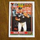 Craig Biggio All Star Catcher Card No 393 (BC393) National League 1992 Topps Baseball Card