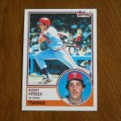 Kent Hrbek 1st Base Twins Card No 690 - 1983 Topps Baseball Card