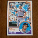Kirk Gibson Outfield Tigers Card No 430 - 1983 Topps Baseball Card