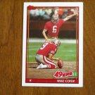 Mike Cofer San Francisco 49ers K Card No 71 - 1991 Topps Football Card