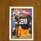 Chris Calloway Pittsburgh Steelers WR Card No 294 - 1991 Topps Football Card