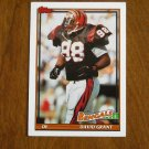 David Grant Cincinnati Bengals DE Card No 263 - 1991 Topps Football Card