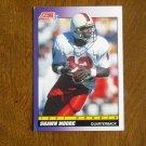 Shawn Moore Denver Broncos Quarterback Card No. 577 - 1991 Score Football Card