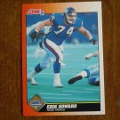 Erik Howard Giants Nose Tackle Card No. 408 - 1991 Score Football Card