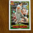 Kevin Maas 1990 Record Breaker Home Runs Card No. 4 - 1991 Topps Baseball Card