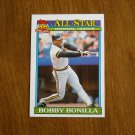 Bobby Bonilla Pittsburgh Pirates Outfielder National League Card No 403 - 1991 Topps Baseball Card