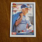Tom Lasorda Dodgers Manager Card No 789 - 1991 Topps Baseball Card