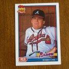 Bobby Cox Atlanta Braves Manager Card No 759 - 1991 Topps Baseball Card