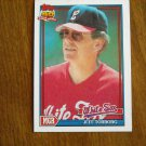 Jeff Torborg Chicago White Sox Manager Card No 609 - 1991 Topps Baseball Card