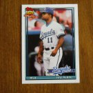 Hal McRae Manager Kansas City Royals Card No 79T - 1991 Topps Baseball Card