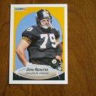 John Rienstra Pittsburgh Steelers Offensive Lineman Card No. 149 - 1990 Fleer Football Card