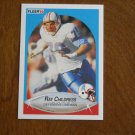 Ray Childress Houston Oilers Defensive Lineman Card No. 126 - 1990 Fleer Football Card