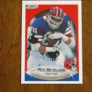 Pete Metzelaars Buffalo Bills Tight End Card No. 117 - 1990 Fleer Football Card