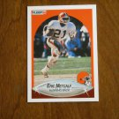 Eric Metcalf Cleveland Browns Running Back Card No. 55 - 1990 Fleer Football Card