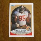 Michael Carter San Francisco 49ers Defensive Lineman Card No. 3 - 1990 Fleer Football Card