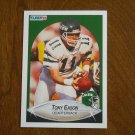 Tony Eason New York Jets Quarterback Card No. 360 (FB360) 1990 Fleer Football Card