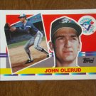 John Olerud Toronto Blue Jays dh-1b Card No 199 - 1990 Topps Baseball Card