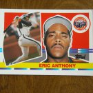 Eric Anthony Houston Astros Outfield Card No 197 - 1990 Topps Baseball Card