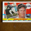 Derek Lilliquist Atlanta Braves Pitcher Card No 192 - 1990 Topps Baseball Card