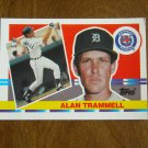 Alan Trammell Detroit Tigers Shortstop Card No 190 - 1990 Topps Baseball Card