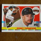 Robby Thompson San Francisco Giants Second Base Card No 169 (BC169) 1990 Topps Baseball Card
