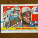 Marquis Grissom Montreal Expos Outfield Card No. 138 - 1990 Topps Baseball Card