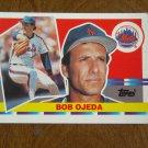 Bob Ojeda New York Mets Pitcher Card No. 131 - 1990 Topps Baseball Card