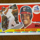 Carlos Martinez Chicago White Sox 3b-1b Card No. 116 - 1990 Topps Baseball Card