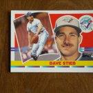 Dave Stieb Toronto Blue Jays Pitcher Card No. 112 - 1990 Topps Baseball Card