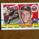 Craig Biggio Houston Astros Catcher Card No. 111 - 1990 Topps Baseball Card