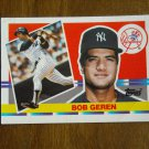 Bob Geren New York Yankees Catcher Card No. 209 - 1990 Topps Baseball Card