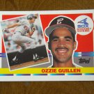 Ozzie Guillen Chicago White Sox Shortstop Card No. 215 - 1990 Topps Baseball Card