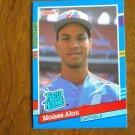 Moises Alou Montreal Expos Outfield Rated Rookie Card No. 38 - 1990 Leaf Baseball Card