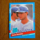 Dave Hansen Los Angeles Dodgers Third Base Rated Rookie Card No. 45 - 1990 Leaf Baseball Card
