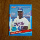 Kevin Belcher Texas Rangers Outfield Rated Rookie Card No. 46 - 1990 Leaf Baseball Card