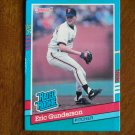 Eric Gunderson San Francisco Giants Pitcher Rated Rookie Card No. 415 - 1990 Leaf Baseball Card