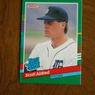 Scott Aldred Detroit Tigers Pitcher Rated Rookie Card No. 422 - 1990 Leaf Baseball Card