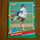 Rich Delucia Seattle Mariners Pitcher Rated Rookie Card No. 426 - 1990 Leaf Baseball Card