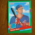 Turner Ward Cleveland Indians Outfield Rated Rookie Card No. 429 - 1990 Leaf Baseball Card